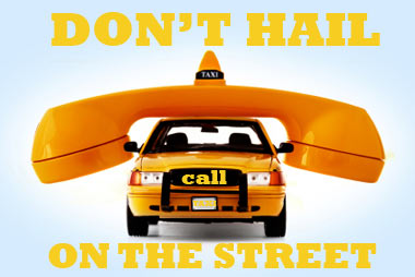 do not take taxi off the street